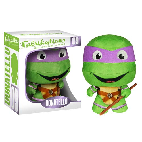 Teenage Mutant Ninja Turtles Donatello Fabrikations Plush Figure