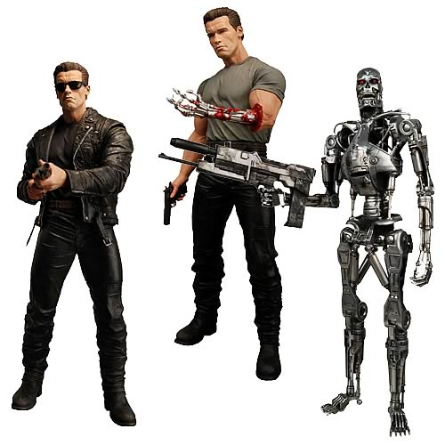 Terminator 2 Judgment Day Action Figures Series 1 Case