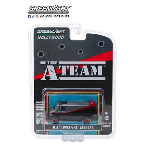 The A-Team 1983 GMC Vandura 1:64 Scale Die-Cast Metal Vehicle