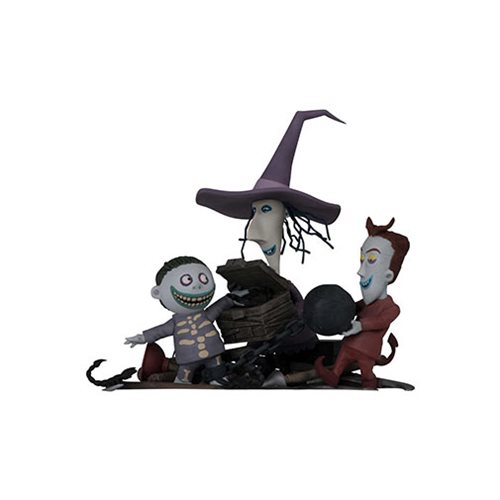 Nightmare Before Christmas Lock, Shock and Barrel Grand Jester Studios Statue