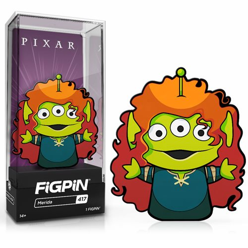 Disney Alien Remix Alien Merida FiGPiN Classic Enamel Pin
