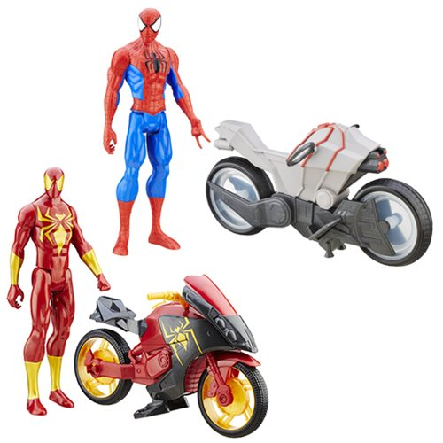 Spider-Man Sinister 6 Titan Hero Series Vehicles Wave 1 Set