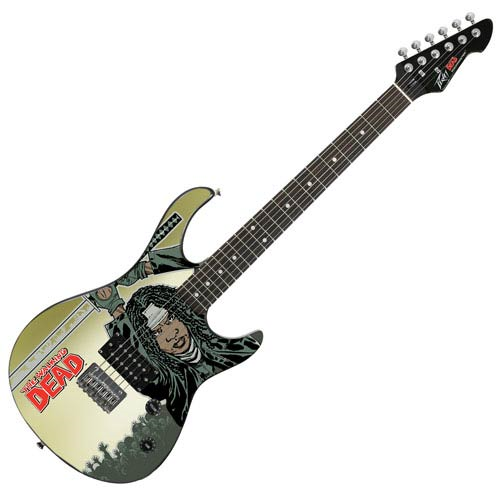 The Walking Dead Michonne Rockmaster Electric Guitar