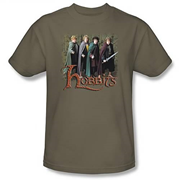 Lord of the Rings Hobbits Green T-Shirt