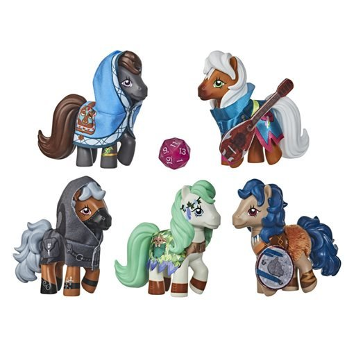 My Little Pony x Dungeons & Dragons Crossover Figures