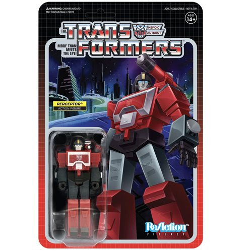 Transformers Perceptor 3 3/4-Inch ReAction Figure
