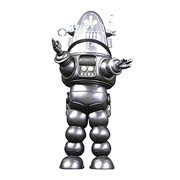 Forbidden Planet Robby the Robot Silver Die-Cast Metal Figure - Previews Exclusive