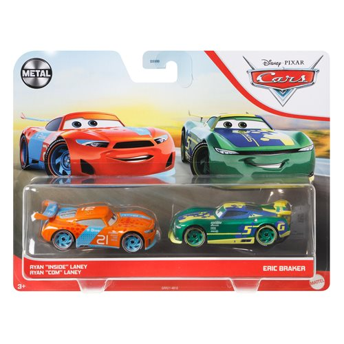 Cars 3 Character Car Vehicle 2-Pack 2021 Mix 2 Case of 12