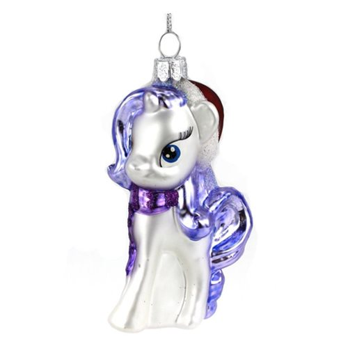 My Little Pony Friendship is Magic Rarity Glass Christmas Ornament