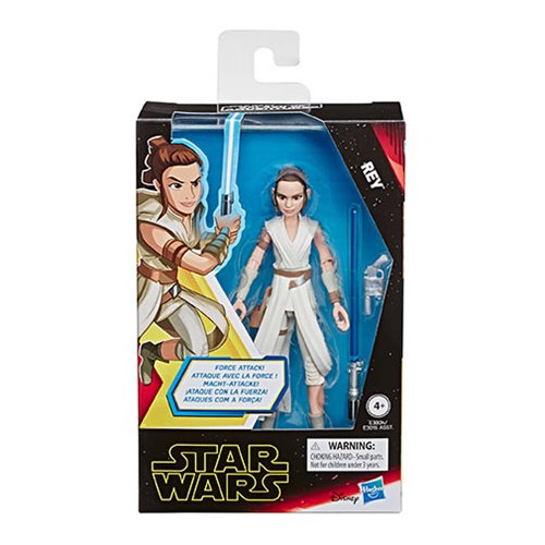 Star Wars Galaxy of Adventures Rey 5-Inch Action Figure