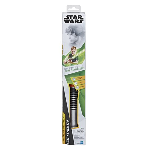 Star Wars Luke Skywalker Electronic Green Lightsaber