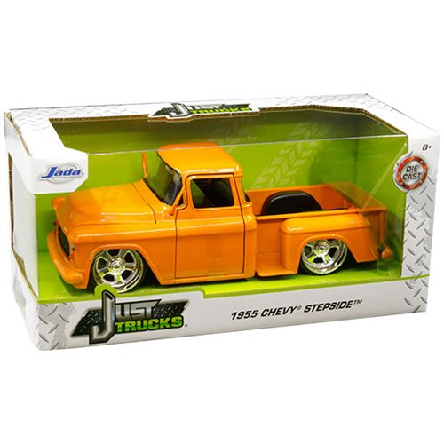 Chevrolet Stepside Pick Up 1955 orange metallic Modellauto 1:24 Jada Toys