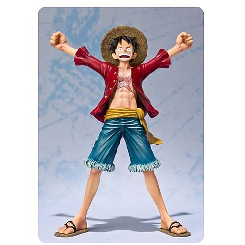 One Piece Monkey D. Luffy New World Version Action Figure