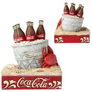 Coca-Cola Coke Ice Bucket on Beach Statue by Jim Shore