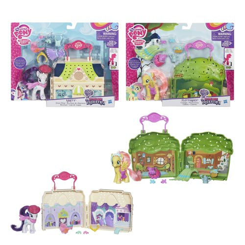 My Little Pony Explore Equestria Playsets Wave 1 Set