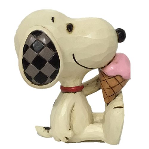 Peanuts Snoopy with Ice Cream Mini by Jim Shore Statue