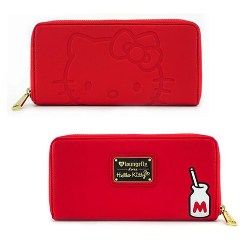 Hello Kitty Red Zip-Around Wallet