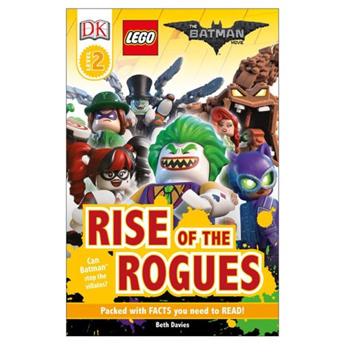 The LEGO Batman Movie: Rise of the Rogues DK Readers 2 Hardcover Book
