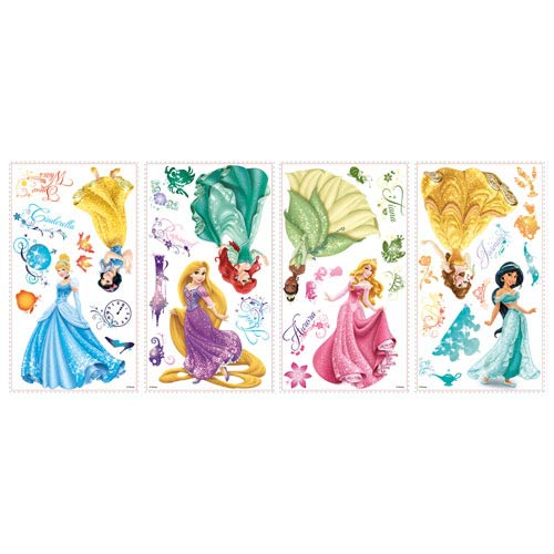Disney Princesses Royal Debut Peel and Stick Wall Decals