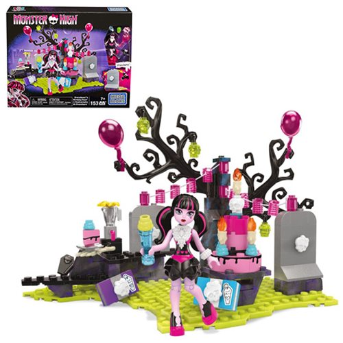 Mega Bloks Monster High Draculaura Birthday Bash Playset