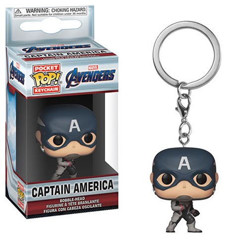 Avengers: Endgame Captain America Pocket Pop! Key Chain