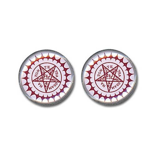 Black Butler Pentagram Earrings