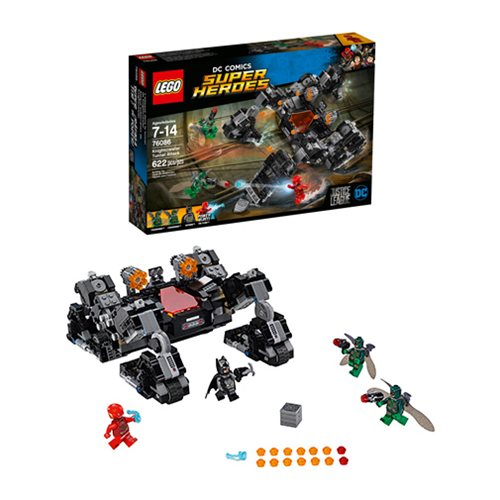 LEGO Justice League 76086 Justice League Knightcrawler Tunnel Attack