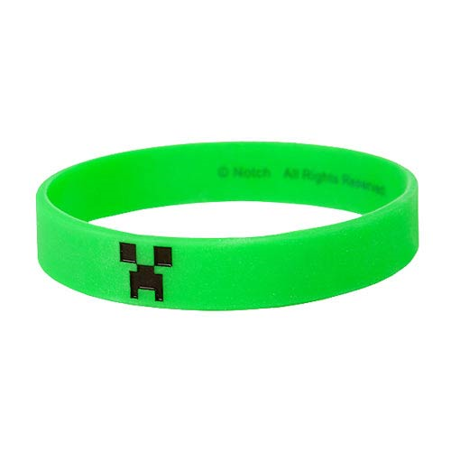 Minecraft Creeper Green Bracelet