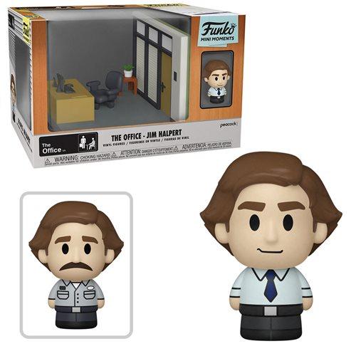 The Office Jim Mini Moments Mini-Figure Diorama Playset