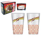 Flash Gordon 16 oz. Glass Set of 2
