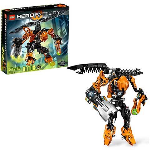 Lego Hero Factory 7162 Rotor Entertainment Earth