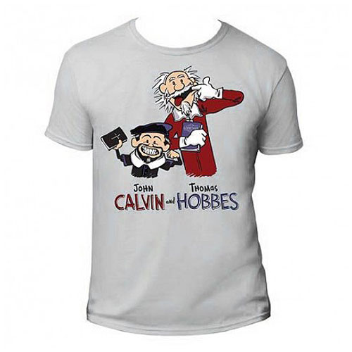 John Calvin and Thomas Hobbes T-Shirt