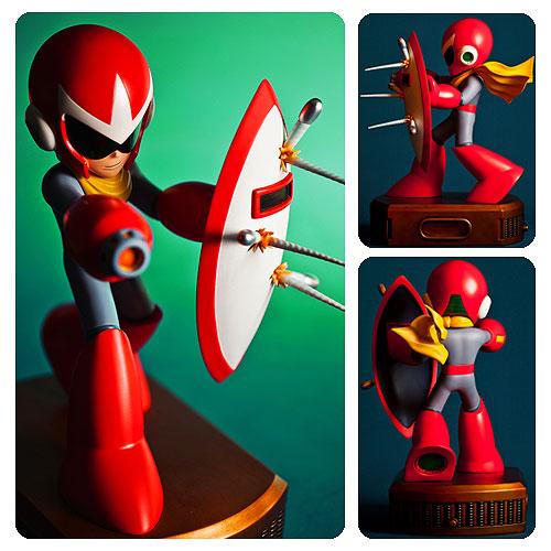 Mega Man Proto Man 13-Inch Statue