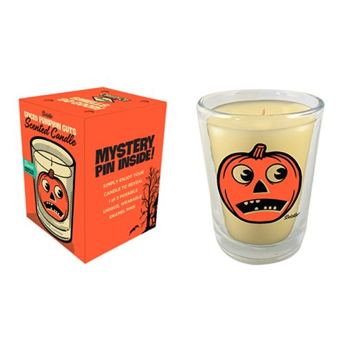 Beistle Spiced Pumpkin Guts Candle with Mystery Pin