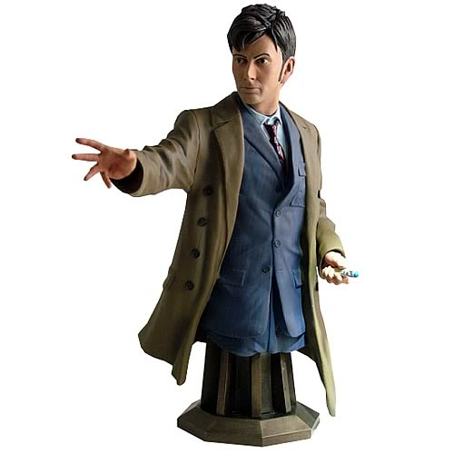 Doctor Who Masterpiece Collection Tenth Doctor Bust