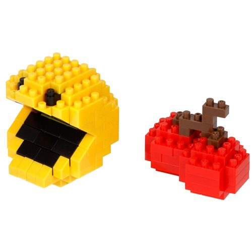 Pac-Man Pac-Man and Cherry Nanoblock Constructible Figures