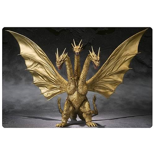 Godzilla King Ghidorah SH Monster Arts Action Figure