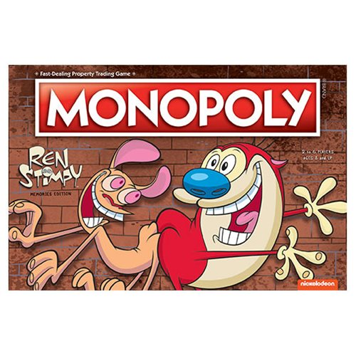 Ren and Stimpy Monopoly Game