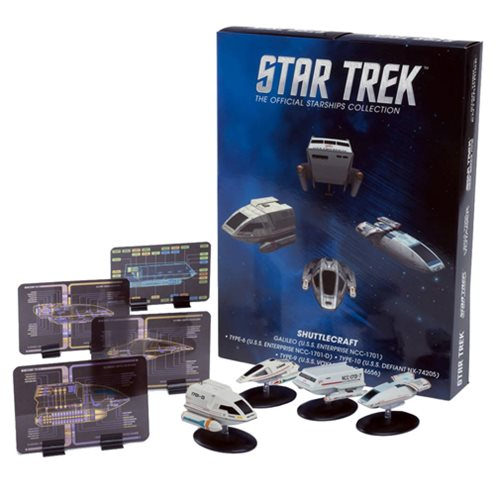 Star Trek Starships Shuttlecraft Set #2 Part 1 Die-Cast Metal Vehicles 4-Pack
