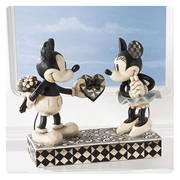Disney Traditions Mickey and Minnie Mouse Statue