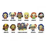 DC Super Hero Girls 3D Figural Key Chain Random 6-Pack