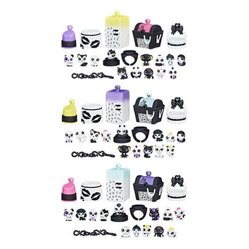 Littlest Pet Shop Black N White Pet Packs Wave 1 Set