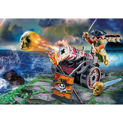 Playmobil 70415 Pirates Pirate with Cannon
