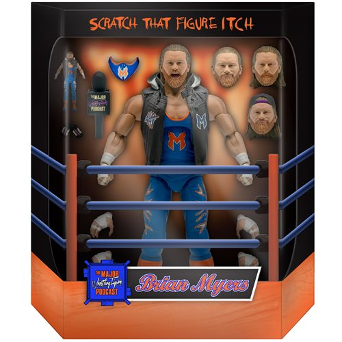 Major Wrestling Figure Podcast Ultimates Brian Myers 7-Inch Action Figure