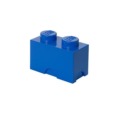 LEGO Bright Blue Storage Brick 2