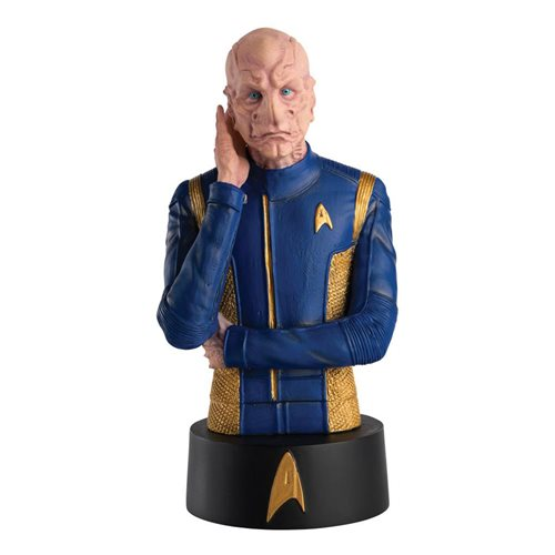 Star Trek Bust Collection Commander Saru Bust with Collector Magazine