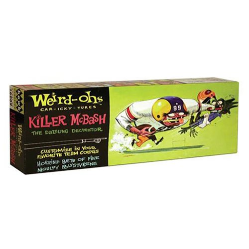 Weird-Ohs Killer McBash Model Kit