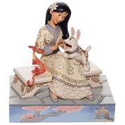Disney Traditions Mulan White Woodland Honorable Heroine Statue by Jim Shore