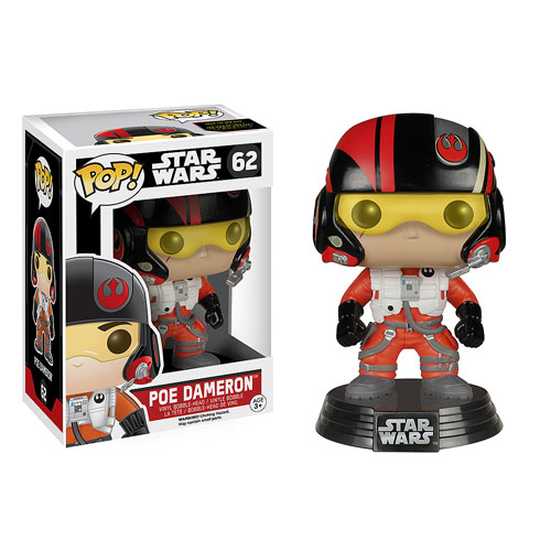 Star Wars: Episode VII - The Force Awakens Poe Dameron Pop! Vinyl Bobble Head