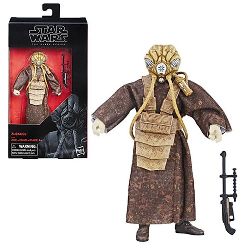 Star Wars Black Series Zuckuss 6-inch Action Figure